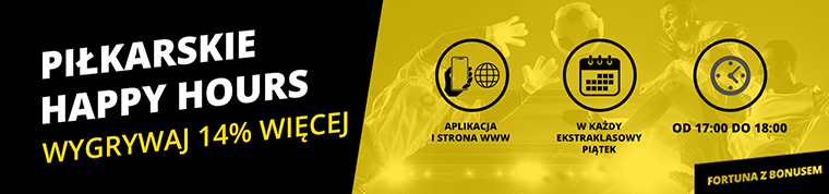 Promocja Happy Hours w Fortuna