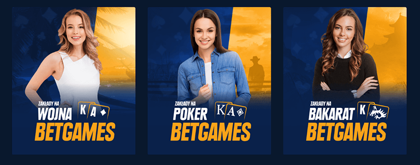 Betgames w STS