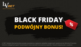 Black Friday w LV BET - Bonus Bez Depozytu 40 PLN