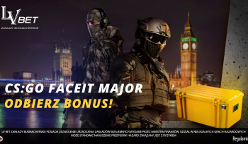 CS:GO Daceit Major: odbierz bonus w LV BET