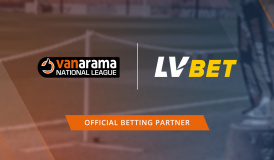 LV BET Oficjalnym Partnerem Bukmacherskim Vanarama National League